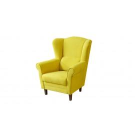FINES CLIP kreslo žlté