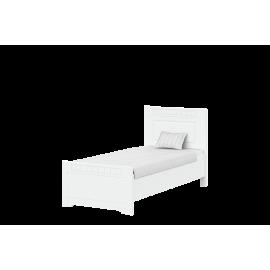 TIROL TYP P-90 posteľ Biela arctic   Biela arctic